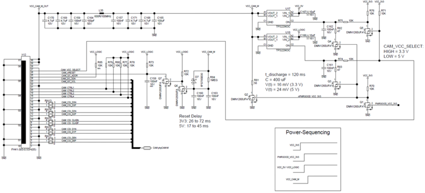 phyCAM-M Reference Schematic