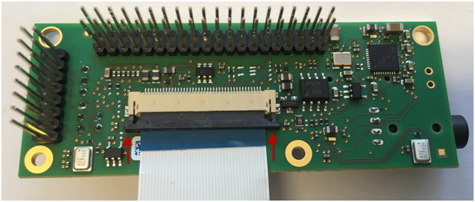 PEB-AV-07 FFC cable clamp (open)