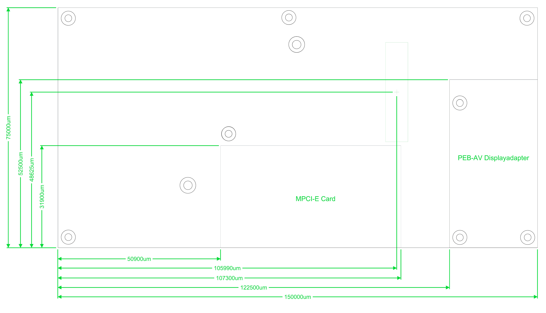 phyBOARD-Nunki i.MX 6 Expansion Port Space Limitations (Backside of Board)