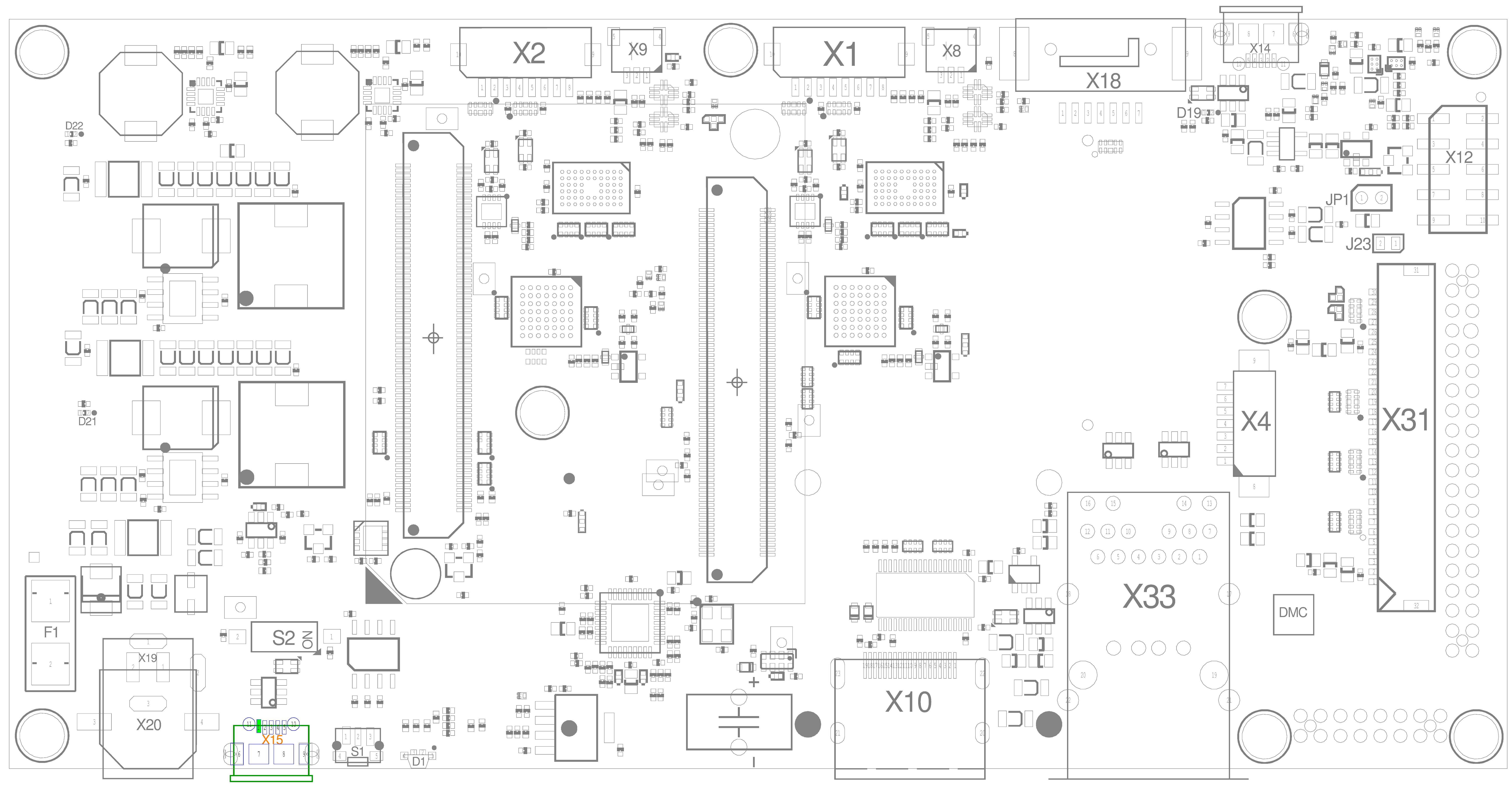 USB Debug Connector (X15)
