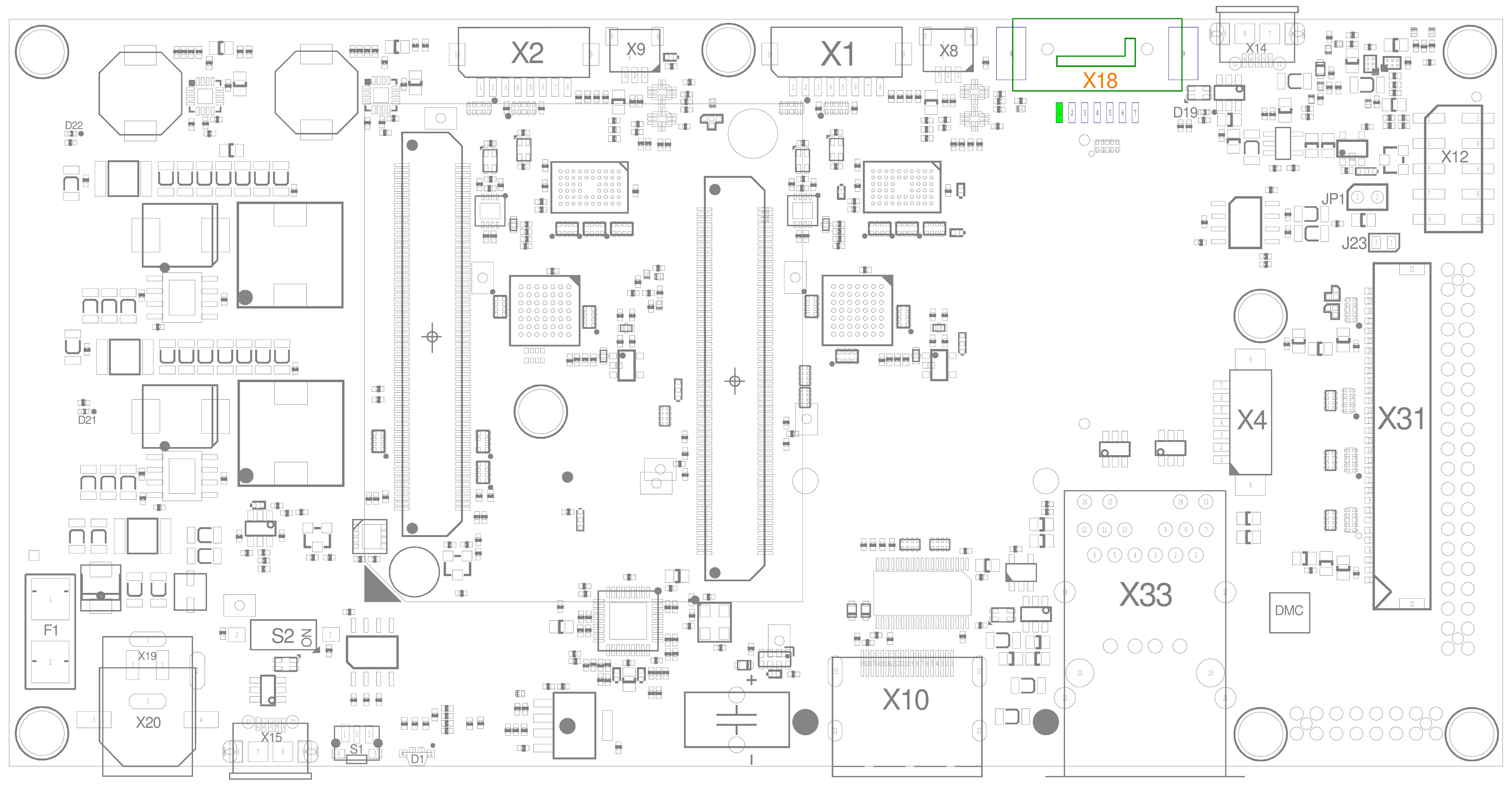 SATA Connector (X18)