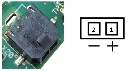 Molex Micro 3.0 connector with polarity
