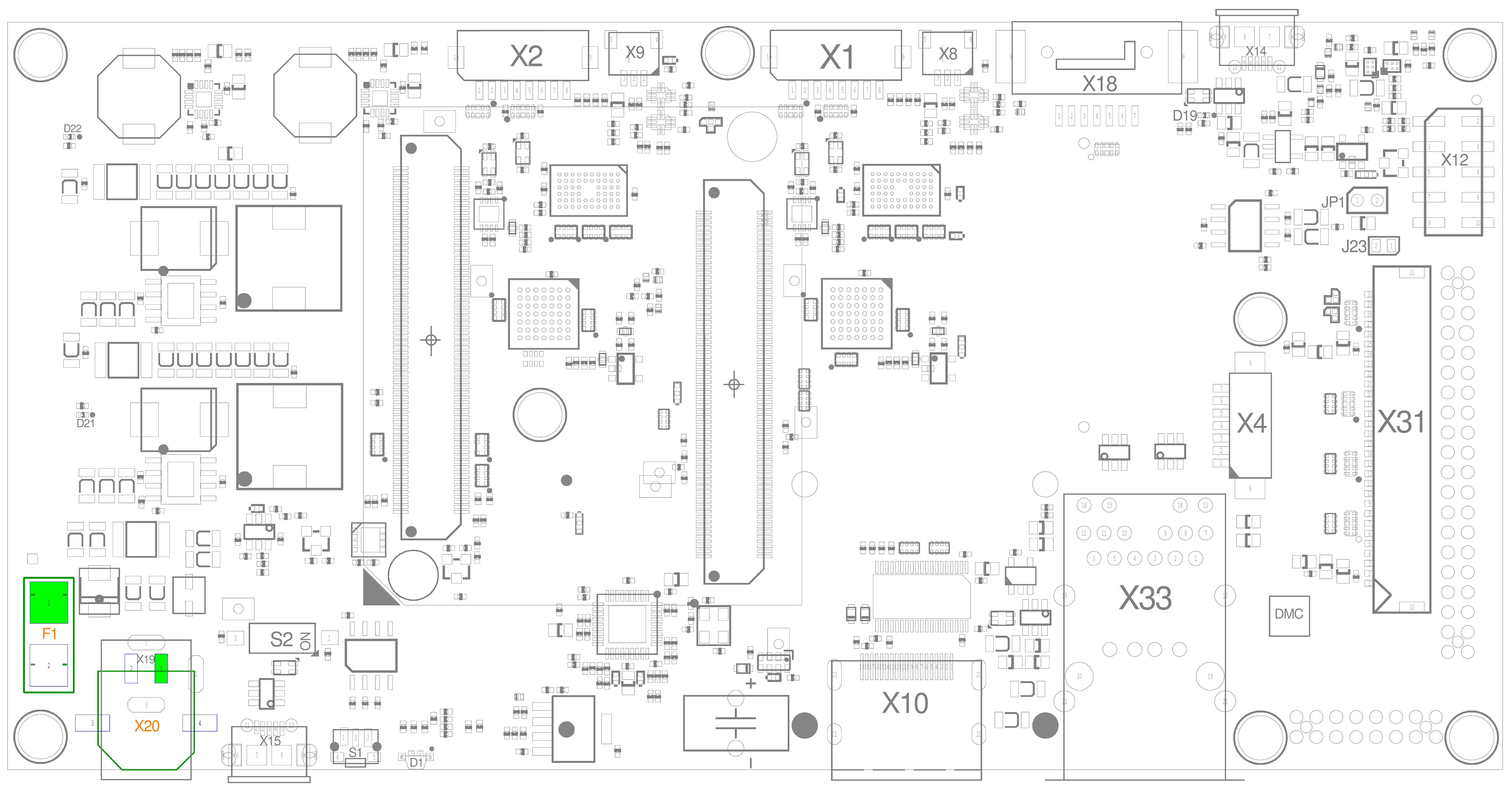 Molex Micro 3.0TM Connector (X20)
