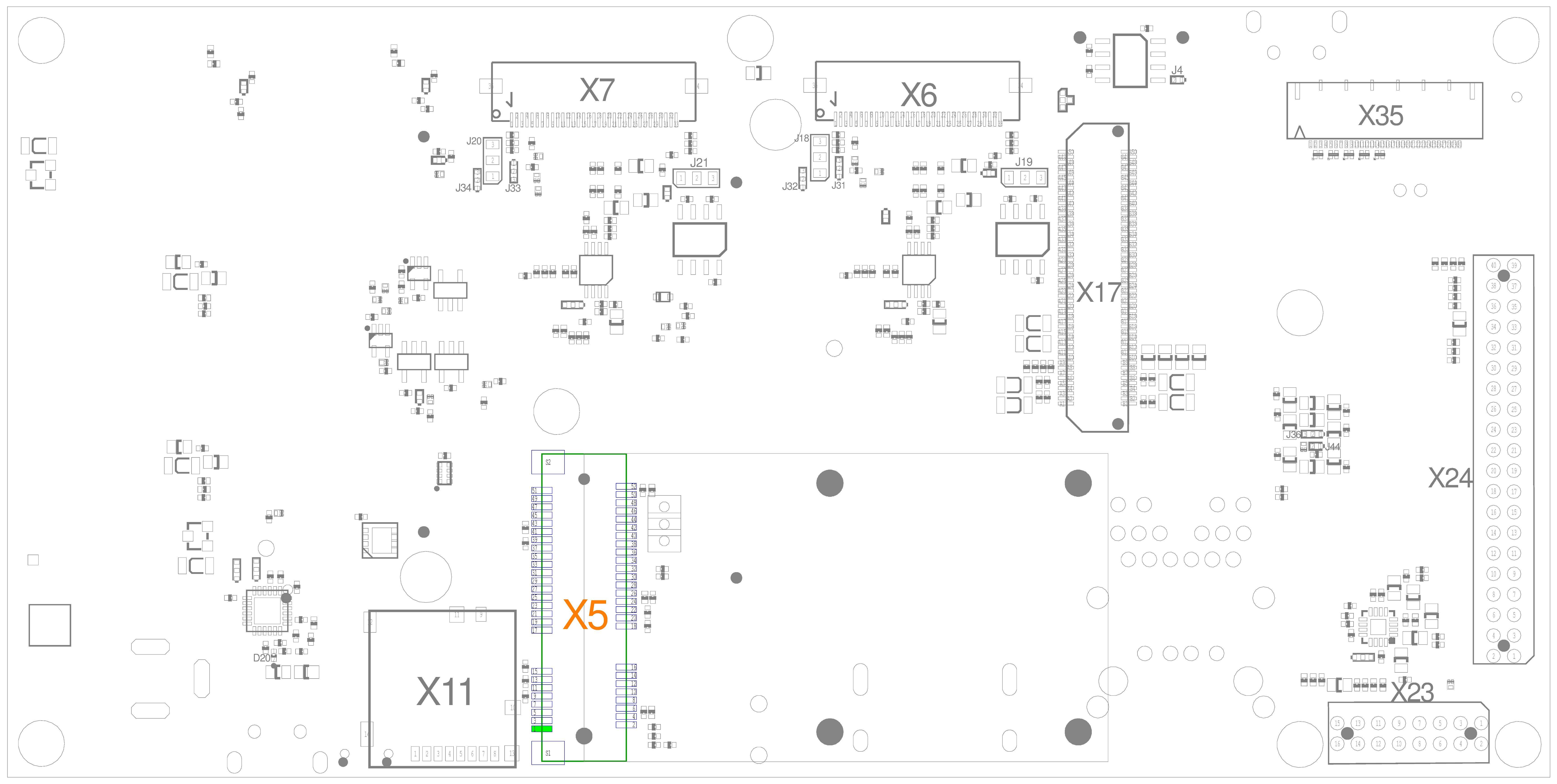 Mini PCIe Connector (X5)