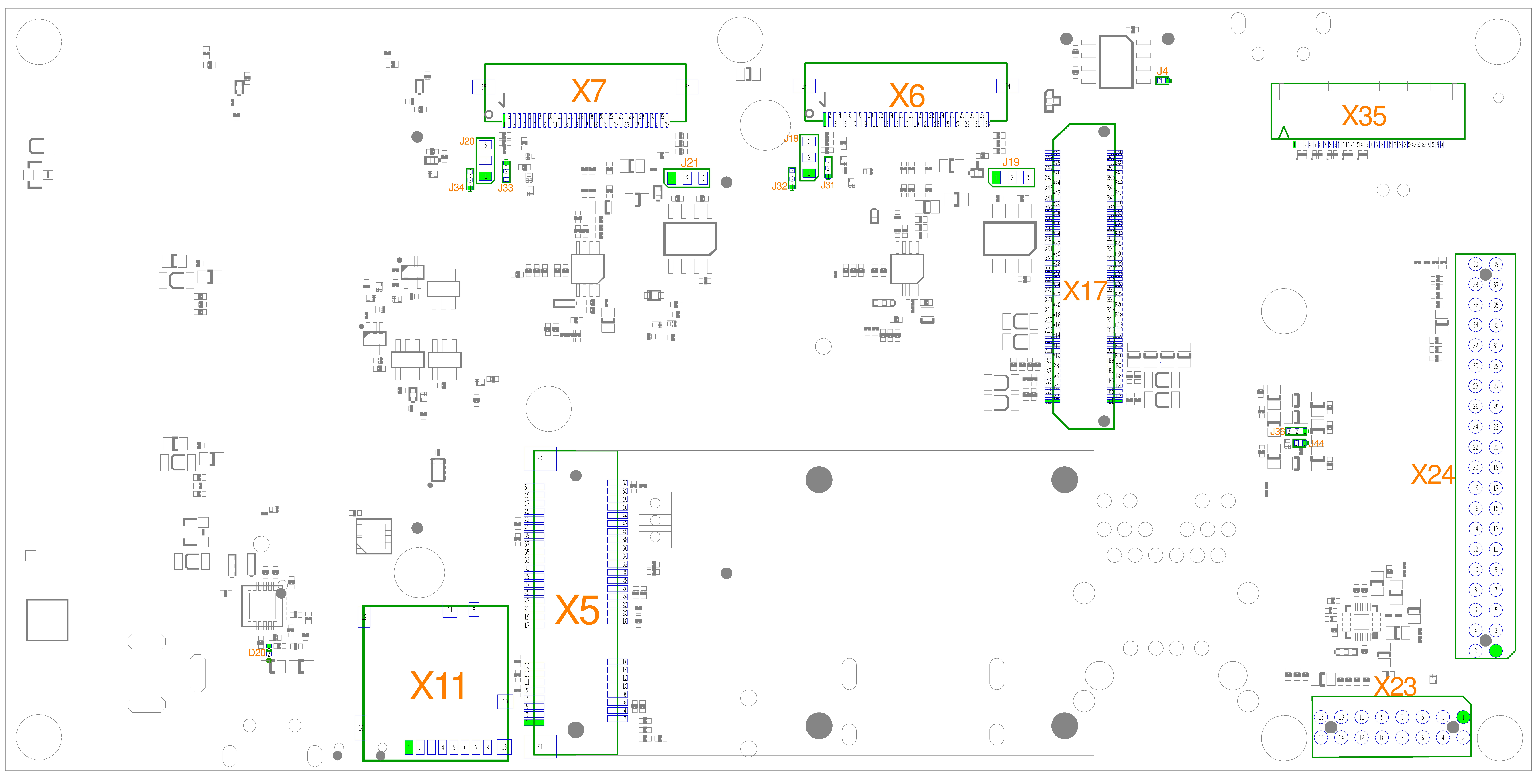phyBOARD-Nunki i.MX 6 Component Placement (Bottom)