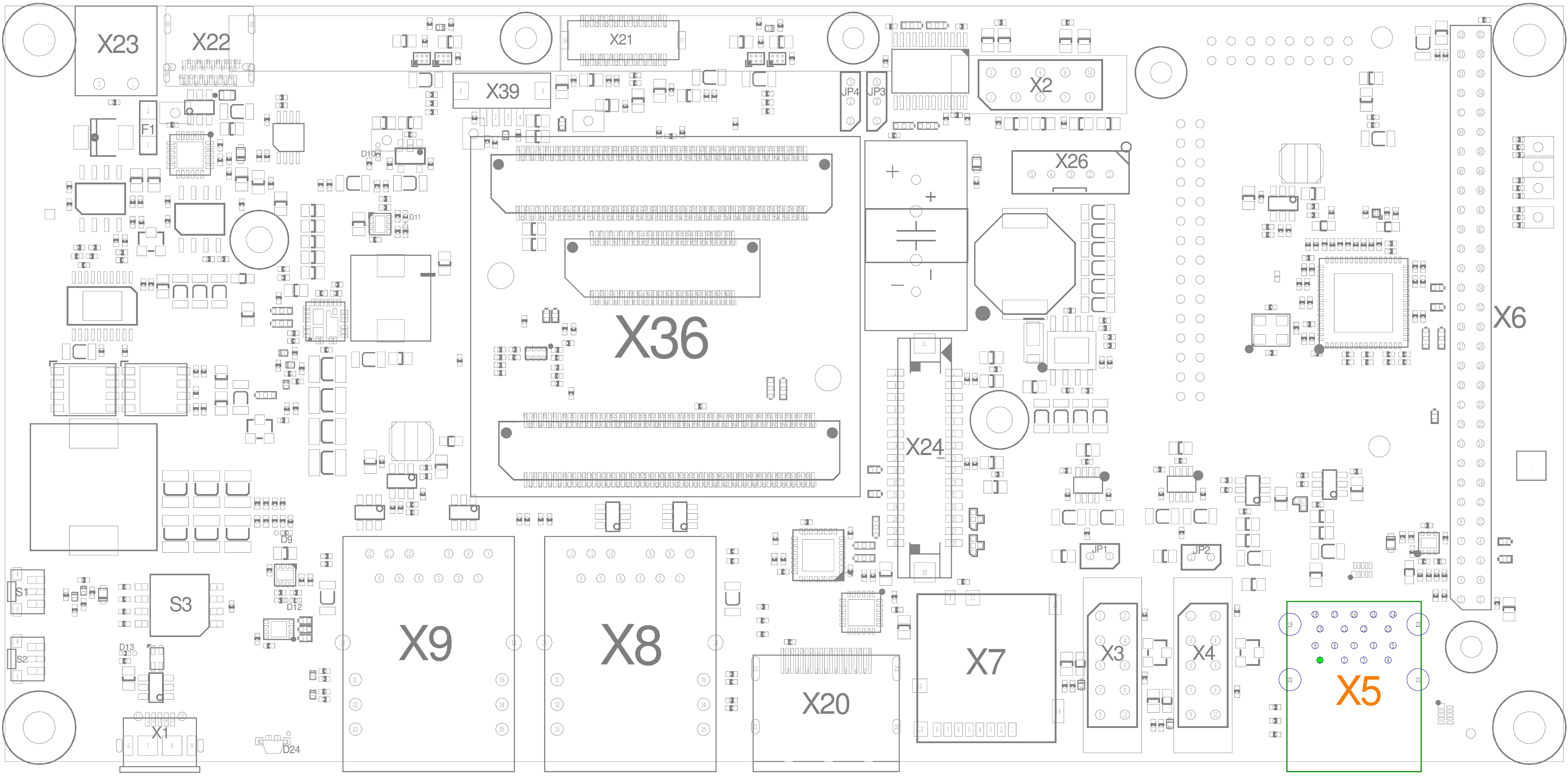 USB Interfaces (X5)