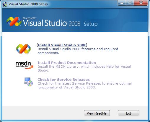 visual studio 2008 key