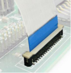 Kameraverbindung stehende FFC-Buchse (phyCAM-P)